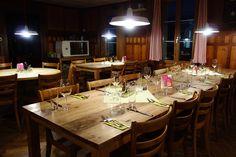 Pilgerhaus Maria-Rickenbach Table Settings, Pilgrims, Switzerland, Table Top Decorations, Place Settings, Desk Layout