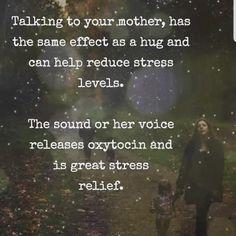 #mother #voice #release #healing #reallytho #oxytocin