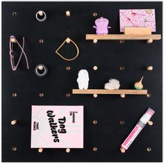 Wooden pegboard is made out of quality birch plywood, hand-finished. A silky natural-oil finish brings out the wood grain and...