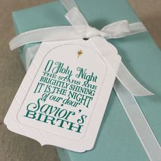 O Holy Night Tag by Lizzie Jones for Papertrey Ink (September 2015)