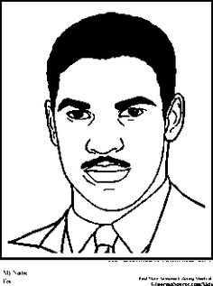 denzel washington coloring pages black history month