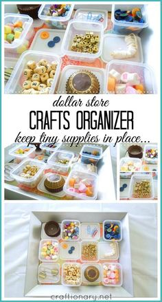 DIY crafts organizer #crafts #organization- craftionary.net
