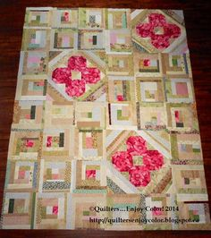 QUILTERS...ENJOY COLOR! : Wildflower Improvise Tutorial