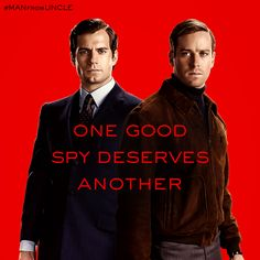 See Henry Cavill and Armie Hammer in #ManFromUNCLE, in theaters August 14.