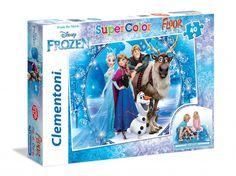 PUZZLE 40 PZ FLOOR FROZEN Clementoni puzzle - 25447