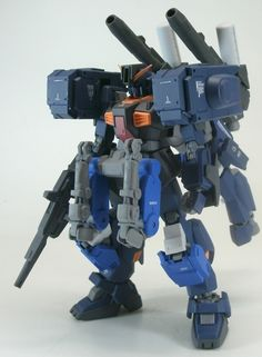 GUNDAM GUY: High Fire Power Gundam Mk-II - Customized Build