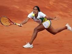 Blog Esportivo do Suíço: Teliana derrotou a americana no saibro em Saint-Gaudens