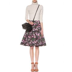 mytheresa.com - Floral-print cotton-jersey skirt - print - skirts - clothing - Luxury Fashion for Women / Designer clothing, shoes, bags