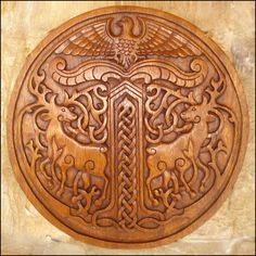 Viking Carvings | Product Categories | Celtic, Viking and Lamp Woodcraft Carvings