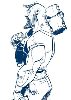 Otto Schmidt - i love when an artist adapts a cartoonish style but maintains a massive amount of personality in the characters:)
