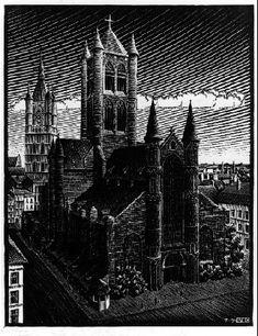 NOT DETECTED - M.C. Escher, c.1934, 234/469.