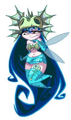 // Annetta Fish, Rayman Origins