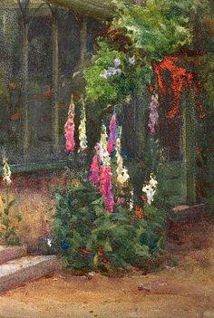 Mildred Anne Butler Foxgloves 1904