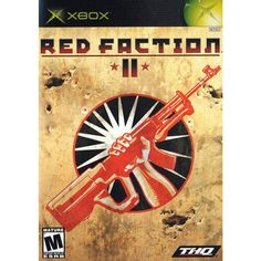 Red Faction II is a first-person shooter video games for the Nintendo GameCube. This game is developed by Cranky Pants Games and published by THQ. Gamecube Games, Xbox Games, All Games, Free Games, Red Faction 2, Earth Defence Force, Xbox 1, Playstation 2, Xbox 360 Console