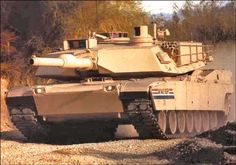 M1A2 Abrams Tank   My son drives one of these!