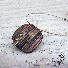 polymer jewelry - Martina Buriánová - my technique - Ragstone