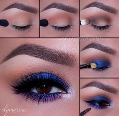 Eyebrow, eyeshadow, lashes - everything on point