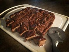 Deer liver brownies are a healthy treat alternative. (Tes Jolly photo)