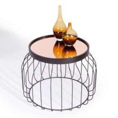 Bird Cage Side Table
