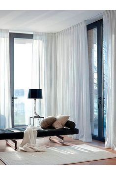 The concept of Himla is made to set the mood and create an atmosphere in all the rooms of your home. Decorate with curtains, pillows, throws and rugs. Interior Exterior, Luxury Interior, Home Interior Design, Living Room Furniture Layout, Living Room Designs, Living Room Decor, Bedroom Wall, Bedroom Decor, Home And Living