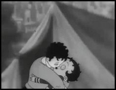 Betty Boop in There's Something About A Soldier - by Max Fleischer Disney Kiss, Old Disney, Vintage Cartoons, Old Cartoons, Cartoon Gifs, Cartoon Art, Scorpio Art, Disneyland Castle, Boop Gif