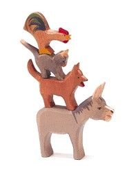 """The Ostheimer """"Musicians of Bremen"""" set (mentioned in the novel)"""
