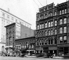 early 1900's cleveland ohio | Cleveland's Warehouse District, early 1900's