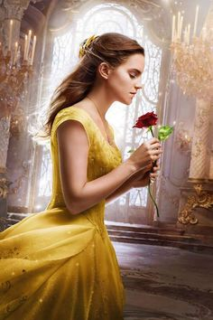 Emma Watson as Belle Beauty and the Beast 2017