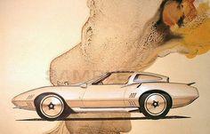 OG |Plymouth Barracuda |Design sketch