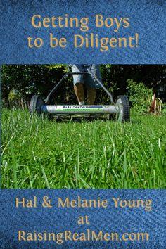 Raising Real Men » Blog Archive » Teaching Diligence to Boys