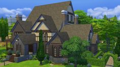 Bill's Sims Creations: The Sims 4 Creators Camp from a Builder's Perspective