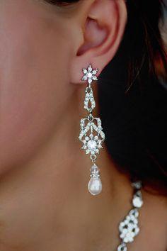 Bridal Earrings - Crystal Earrings