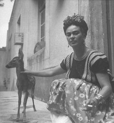 Frida Kahlo photographié par Nicolas Murray