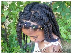 Awe Inspiring Nias Two Strand Twists Childrens Hairstyle Youtube Hair Hairstyles For Women Draintrainus