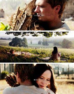 New Ideas Hunger Games Quotes Peeta Love Book The Hunger Games, Divergent Hunger Games, Hunger Games Memes, Hunger Games Fandom, Hunger Games Catching Fire, Hunger Games Trilogy, Katniss And Peeta, Katniss Everdeen, Fallout 3