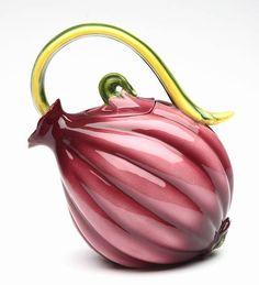 Veggie Teapot Purple Onion 20805