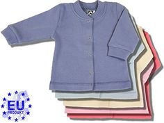 "AM artmoda Baby-Jacke in warmer Interlock Baumwolle, Farbe ""ecru/champagne"" AM artmoda http://www.amazon.de/dp/B00LSW7LTC/ref=cm_sw_r_pi_dp_eCg2vb0XH78WN"