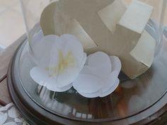 Nice Party boda flores papel