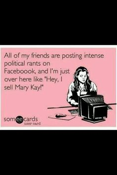 Mary kay consultant---So gonna be me. https://www.facebook.com/robynmkbeauty