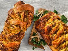 Pesto, Food, Breads, Bread Rolls, Essen, Bread, Meals, Braided Pigtails, Yemek