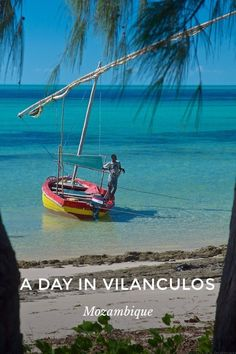 A DAY IN VILANCULOS Mozambique Slowely I return from my dreamland. Where am I? What is that sound awakening me? Thats true, I'm in Vilancolus Mozambique Africa! But the sound? I tiptoe out on my balcony and below on the beach it's a frentic