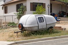 Prescott Area Daily Photo: Vintage Camping Trailer