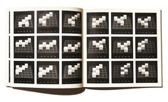 Five Cubes on Twenty-Five Squares by Sol LeWitt, 1978. Image courtesy of ViaIndustriae. from here