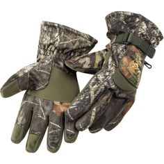 Camo gloves are waterproof with breathability, scent control and insulated Hunting Gloves, Waterproof Gloves, Outdoor Apparel, Level 3, Suede Fabric, Good Grips, Athletic, Quad, Mountain