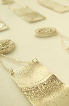 Contemporary jewellery  Irradiant pendants by Kobi Roth