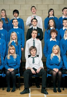 One of the best British TV shows. The Inbetweeners, an extremely accurate measure of the males I grew up around. British Humor, British Comedy, Best Tv Shows, Favorite Tv Shows, Movies Showing, Movies And Tv Shows, The Inbetweeners, Friends Tv Show, Three Friends