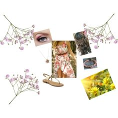 """""""Summer and Flowers"""" by theresek4444 on Polyvore"""