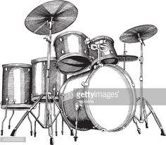 drum ink art - Google Search