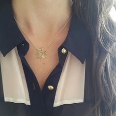 Circle of life necklace by ATELIER Gaby Marcos