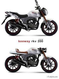 Resultado de imagen para keeway rkv 200 cafe racer